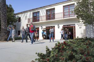 image of students leaving Madera Hall