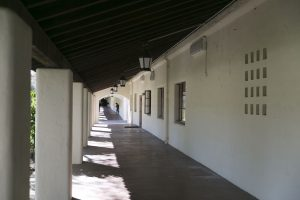image of architectural hallway